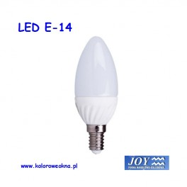 Żarówka LED E14 3W 3000K 180lm MXL świeczka