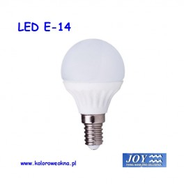 Żarówka LED E14 6W 3000K 520lm KBI kula mała