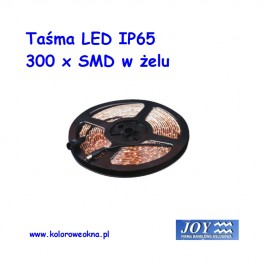 Taśma 300 x LED IP65 5mb Kolor niebieski