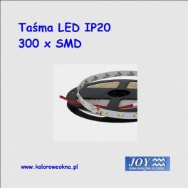 Taśma 300 x LED IP20 5mb Kolor biały