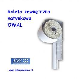 Roleta Zewnętrzna ALU OWAL PA39